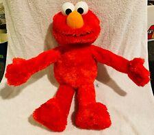 "Hasbro Playskool SESAME STREET 123 Big Hugs Elmo Plush Interactive Toy 22"" A4256"