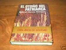 EL OTONO DEL PATRIARCA Garcia Marquez First 1st Edition