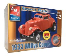 1933 Willys COUPE buyer's Choice 1:25 AMT 31227 KIT NUOVO & OVP