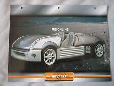 Renault Argos Dream Cars Card