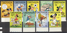 Grenada 1979 Disney/Sports/Football/Basketball 9v  s578