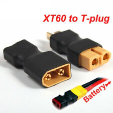 XT60 Male to T Female Plug  Connector/ T Male Plug to XT60 Female conec (1) Pair