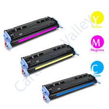 3pk HP Q6001A Q6002A Q6003A  Color LaserJet 1600 2600 CYM Toner Cartridge Combo