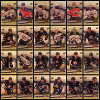 16-17 Heritage Centennial Classic Leafs Oilers Jets Exclusive 24 Card Set w SP's