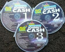 Johnny Cash Classic Country 3 Cdg Discs Chartbuster Hits Karaoke 50 Songs 5050
