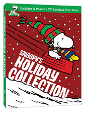 Snoopy's Holiday Collection Classic Peanuts Christmas Specials Box/DVD Set NEW!