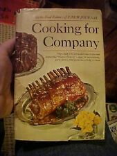 1968 Cookbook FARM JOURNAL COOKING FOR COMPANY, 900 RECIPES