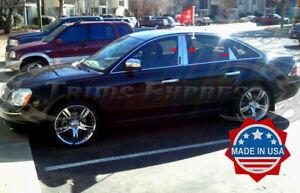 2005-2007 Mercury Montego/Ford Five Hundred 6Pc Pillar Post Trim w/keypad