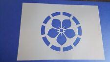 Schablone 572 Blume Vintage Stanzschablone Shabby Stencil Wandtattoos Wandbilder
