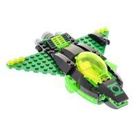 1x Lego Modell 76025 Green Lantern vs. Sinestro Flugzeug unvollständig
