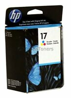 HP 17 Tri-Color Ink Cartridge C6625AN Genuine New