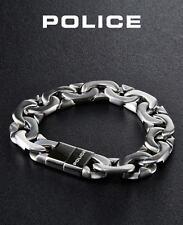 POLICE Männer Edelstahl Panzer Herren Armband MACHINE PJ23883BSS-01-L NEU