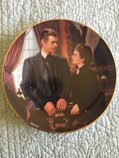 At Cross Purposes - Gone With The Wind - Critic Choice Round Plate- W/ Box & Coa