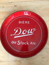 CANADIAN  DOW BIERE old stock ALE  BEER TRAY  CANADA  Very fine condition