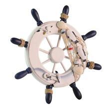 Leegoal Ornamental Home Nautical Wall Marine Decor Wood Pirate Ship Helm Wheels