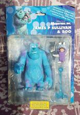 Disney Pixar Monsters Inc James P Sullivan /Sulley & Boo Action Figures.