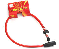 2 CABLE LOCK FOR BIKE BICYCLE GOOD QUALITY WITH KEYS ANTI-THEFT