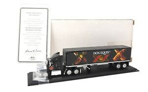 Matchbox Convoy Ford Aeromax Dos Equis Beer Tractor Trailer CCY02 Collectibles