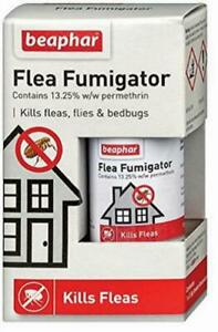 Beaphar Flea Fumigator Smoke Fumigation Effective Flea Killer Bomb