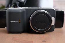 Original Blackmagic Design Pocket Cinema Camera BMPCC with Charger, Batts & SD