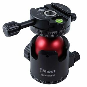 Panoramic Stativkopf für Kamera Tripod Monopod Arca-Swiss Schnellwechselplatte