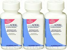 AquADEKs Multivitamin & Mineral Chewable Tablets, 60 count ( 3 pack ) PRIORITY