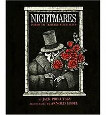 Nightmares : Poems to Trouble Your Sleep Hardcover Jack Prelutsky
