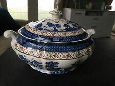Vintage Booths Real Old Willow A8025 Tureen