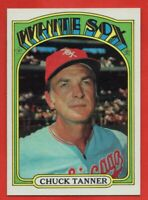 1972 Topps #98 Chuck Tanner NEAR MINT/MINT+ Chicago White Sox Manager FREE S/H