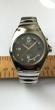 Vintage Seiko Kinetic Watch 5M42-0E39 Water resistant 10 BAR New Seiko Battery