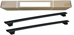2x New cross bar roof racks for Jeep Grand Cherokee 2011 - 2021 black
