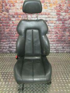 Mercedes-Benz R170 SLK Sitz links Fahrersitz Leder schwarz Sitzheizung
