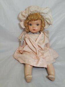 """Vintage Horsman Composition Doll Flirty Eyes  21"""" Tall"""