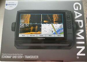 Garmin 010-02342-01 ECHOMAP UHD 93sv Chartplotter/Fishfinder w/ GT54UHD-TM trans