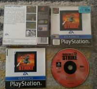 Soviet Strike EA Classic Sony PlayStation 1 PS1 PSOne Complete PAL Black Label