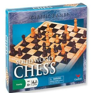 NEW Wood Chess Set from Mr Toys