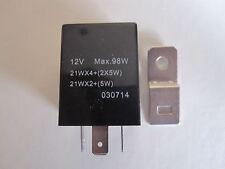 3 Pin 12v  Heavy Duty Automotive Flasher Unit - Max 98w