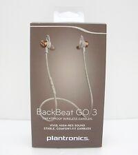 Plantronics BackBeat GO 3 Sweatproof Wireless Earbuds - Copper Orange Retail Box