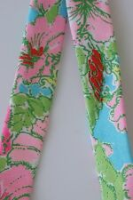 LILLY PULITZER Sunglasses Strap BIG FLIRT Floral Cotton Sunglass NEW