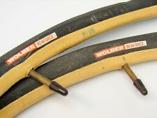 Vintage NOS Wolber Renforce S.A. 02200 Tubular Sew Up Bicycle Tires Wheels