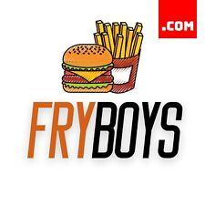 FryBoys.com - 7 Letter Short Domain Name - Brandable Catchy Domain .COM Dynadot