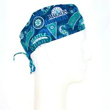 Mlb Seattle Mariners Theme Scrub Hat