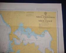 Admiralty Charts Map #203 Greece Nisos Zakinthos to Nisos Paxoi, 1996 ed.