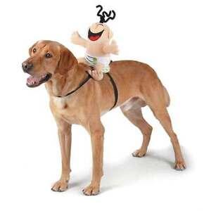 Zack & Zoey Giggling Baby Saddle Harness Dog Costume Soundchip D-Ring Adjustable