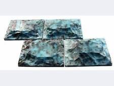 2 Plastic Molds for Concrete - Live Edge Fieldstone Pavers Cement Forms