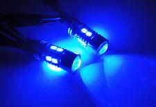 2x BLUE SAMSUNG 10 SMD LED 194 T10 168 for NISSAN Projector Parking Light Bulb