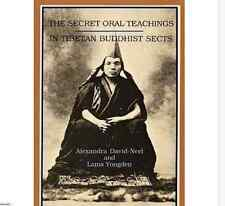 Secret Oral Teaching Tibetan Buddhist Sects Alexandra David-Neel 1969 city light