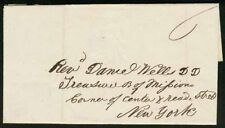 Liberia 1846 missionary cover from King Wills Town