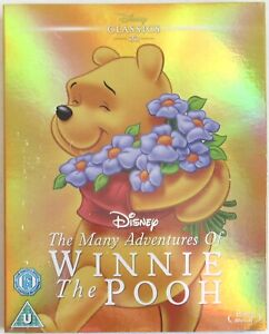 Disney Winnie the Pooh Blu-ray with Holographic Slipcover only released in UK