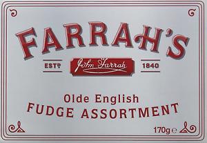 Farrah's of Harrogate Fudge Assortment 170 g
